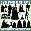 Star Wars Silhouette SVG PNG DXF EPS 1