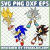 Super Sonic SVG PNG DXF EPS 1