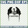 Supernatural Castiel SVG PNG DXF EPS 1