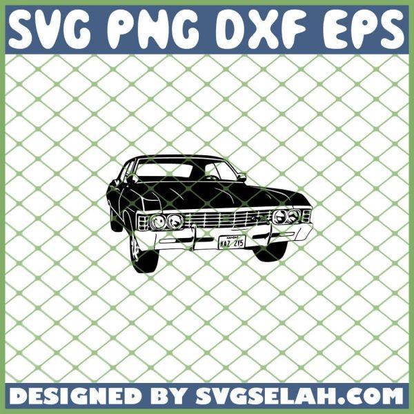 Supernatural Impala SVG PNG DXF EPS 1