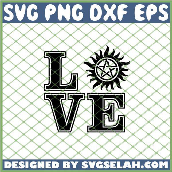 Supernatural Love SVG PNG DXF EPS 1