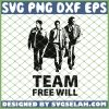 Supernatural Team Free Will SVG PNG DXF EPS 1
