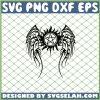 Supernatural Wings SVG PNG DXF EPS 1