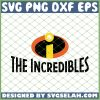 The Incredibles Logo SVG PNG DXF EPS 1