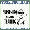 The Incredibles Superhero In Training SVG PNG DXF EPS 1