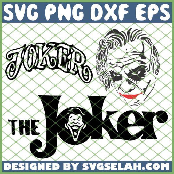 The Joker SVG PNG DXF EPS 1
