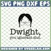 The Office Dwight SVG PNG DXF EPS 1