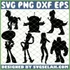 Toy Story Silhouette SVG PNG DXF EPS 1