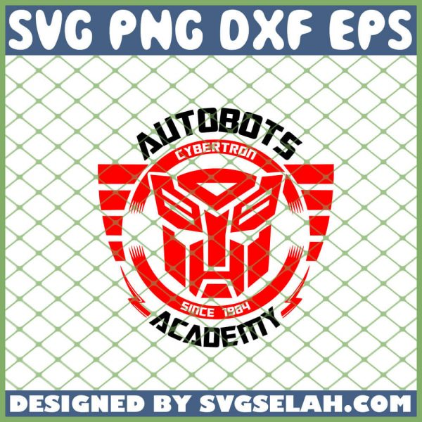 Transformers Autobot Academy SVG PNG DXF EPS 1