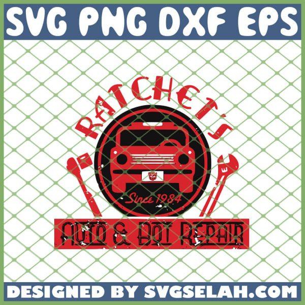 Transformers Ratchet Auto Bot Repair SVG PNG DXF EPS 1