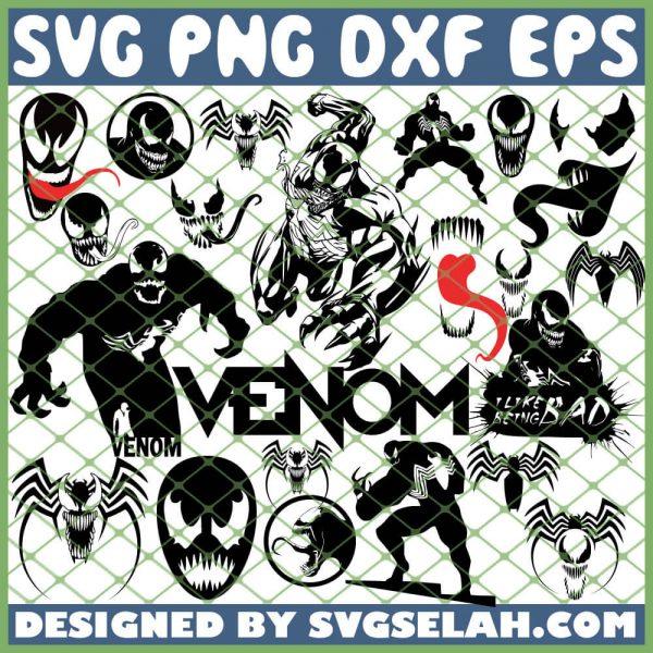 Venom Bundle SVG PNG DXF EPS 1