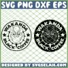 Wakanda Black Panther Coffee Starbucks Logo SVG PNG DXF EPS 1