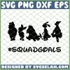 Winnie The Pooh Squadgoals SVG PNG DXF EPS 1