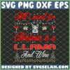 All I Want For Christmas Llama And Wine SVG PNG DXF EPS 1