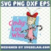 Cindy Lou Who SVG PNG DXF EPS 1