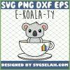 E Koala Ty Rainbow Flag Koala Pun Cute Gay Pride Lgbt SVG PNG DXF EPS 1