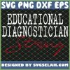 Educational Diagnostician Strong School SVG PNG DXF EPS 1