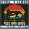 Free Mom Hugs Lgbt Pride Mama Bear Retro SVG PNG DXF EPS 1