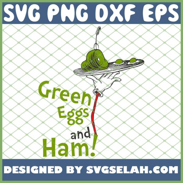 Green Eggs And Ham Meat SVG PNG DXF EPS 1