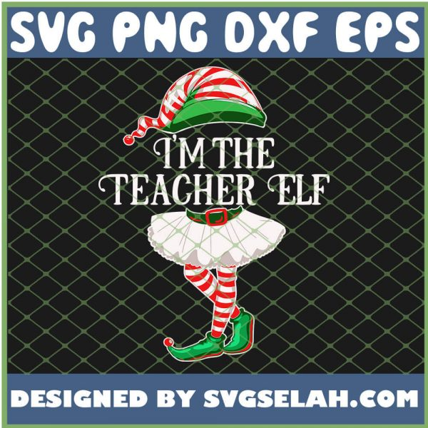 Im The Teacher Female Elf SVG PNG DXF EPS 1