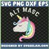 Lgbt Tees Alt Masc Rainbow Unicorn SVG PNG DXF EPS 1