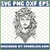Medusas Portrait Cool Greek Methology Art SVG PNG DXF EPS 1