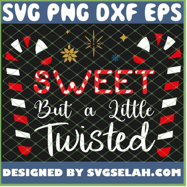 Sweet But A Little Twisted SVG PNG DXF EPS 1