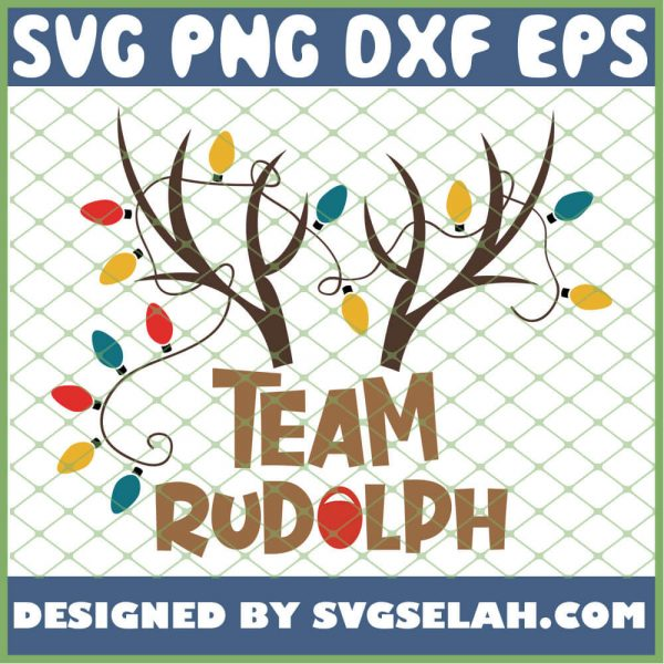 Team Rudolph SVG PNG DXF EPS 1