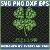 2021 Saint PatrickS Day Clover Lucky Charm SVG PNG DXF EPS 1