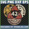 42 The Answer To Life The Universe And Everything SVG PNG DXF EPS 1