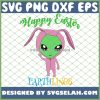 Alien Bunny Costume Happy Easter Earthlings SVG PNG DXF EPS 1