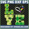 Autism Puzzle Awareness Love St PatrickS Day SVG PNG DXF EPS 1