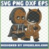 Baby Batman And Groot Guardians Of The Galaxy Costume SVG PNG DXF EPS 1