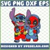 Baby Deadpool And Stitch Costume Best Friends Costume SVG PNG DXF EPS 1