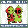 Baby Grinch And Deadpool Costume SVG PNG DXF EPS 1