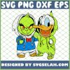 Baby Grinch And Donald Duck Costume SVG PNG DXF EPS 1