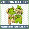 Baby Grinch And Pug Dog Costume SVG PNG DXF EPS 1