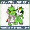 Baby Grinch And Unicorn We Are Best Friend Costume SVG PNG DXF EPS 1