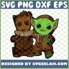 Baby Groot And Baby Yoda Costume SVG PNG DXF EPS 1