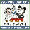 Baby Mickey Olaf And Snoopy My Best Friends Tv Show SVG PNG DXF EPS 1