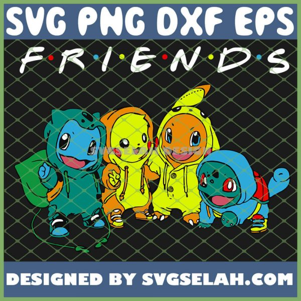 Baby Pokemon And Best Friends Pikachu Tv Show SVG PNG DXF EPS 1
