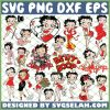 Betty Boop SVG Bundle SVG PNG DXF EPS 1