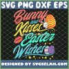 Bunny And Kisses Easter Wishes Easter Egg SVG PNG DXF EPS 1