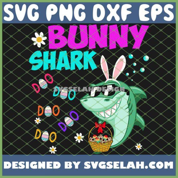 Bunny Shark Doo Doo Doo Kids Toddler SVG PNG DXF EPS 1