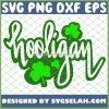 Cool Adult St PatrickS Day Shamrock Hooligan SVG PNG DXF EPS 1