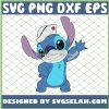 Cute Stitch Nurse Wear The Mask Funny Coronavirus Covid 19 Disney SVG PNG DXF EPS 1