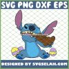 Disney Stitch Eats Chocolate Bunny Easter Day SVG PNG DXF EPS 1