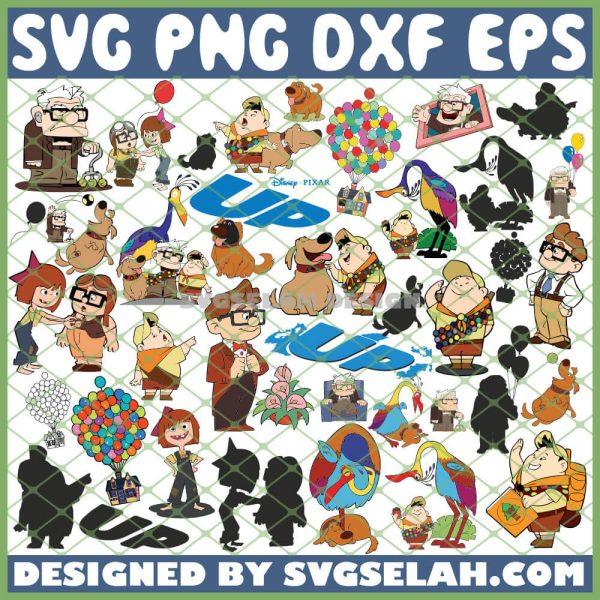Disney Up SVG Bundle SVG PNG DXF EPS 1