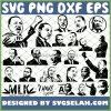 Dr. Martin Luther King Jr SVG Bundle SVG PNG DXF EPS 1