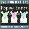 Easter Bunny Gnome Hoppy Easter Day SVG PNG DXF EPS 1
